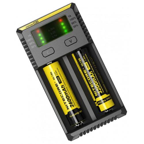 Универсальное зарядное устройство NITECORE® NEW i2