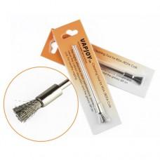 Щетка металлическая для чистки спирали (cleaning brush)