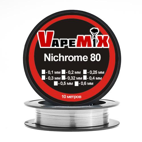 Проволока Nichrome  (от Ø0,1мм до Ø0,8мм)