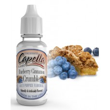 Ароматизатор Capella Blueberry Cinnamon Crumble - Черничный пирог с корицей