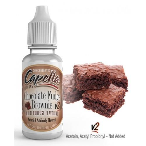 """Ароматизатор Capella Chocolate Fudge Brownie - Шоколадный торт """"Брауни"""""""