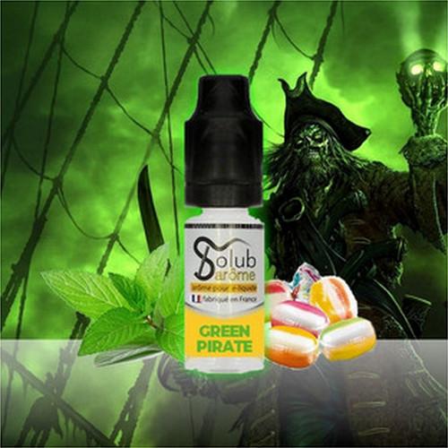 image 1 Solub Green Pirate - Кисло-сладкая конфета с мятой