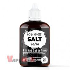 """image 1 Основа (база) для парения на солевом никотине 60/40 """"SALT"""" - 100 мл"""