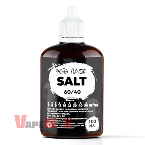 "image 1 Солевая база 60/40 ""Salt"" - 100 мл"