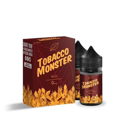 Жидкость Tobacco Monster - Rich
