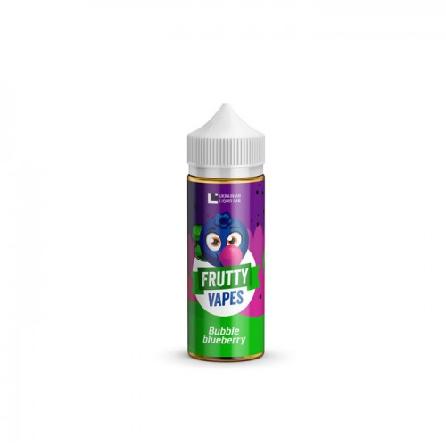 Frutty Vapes - Bubble Blueberry