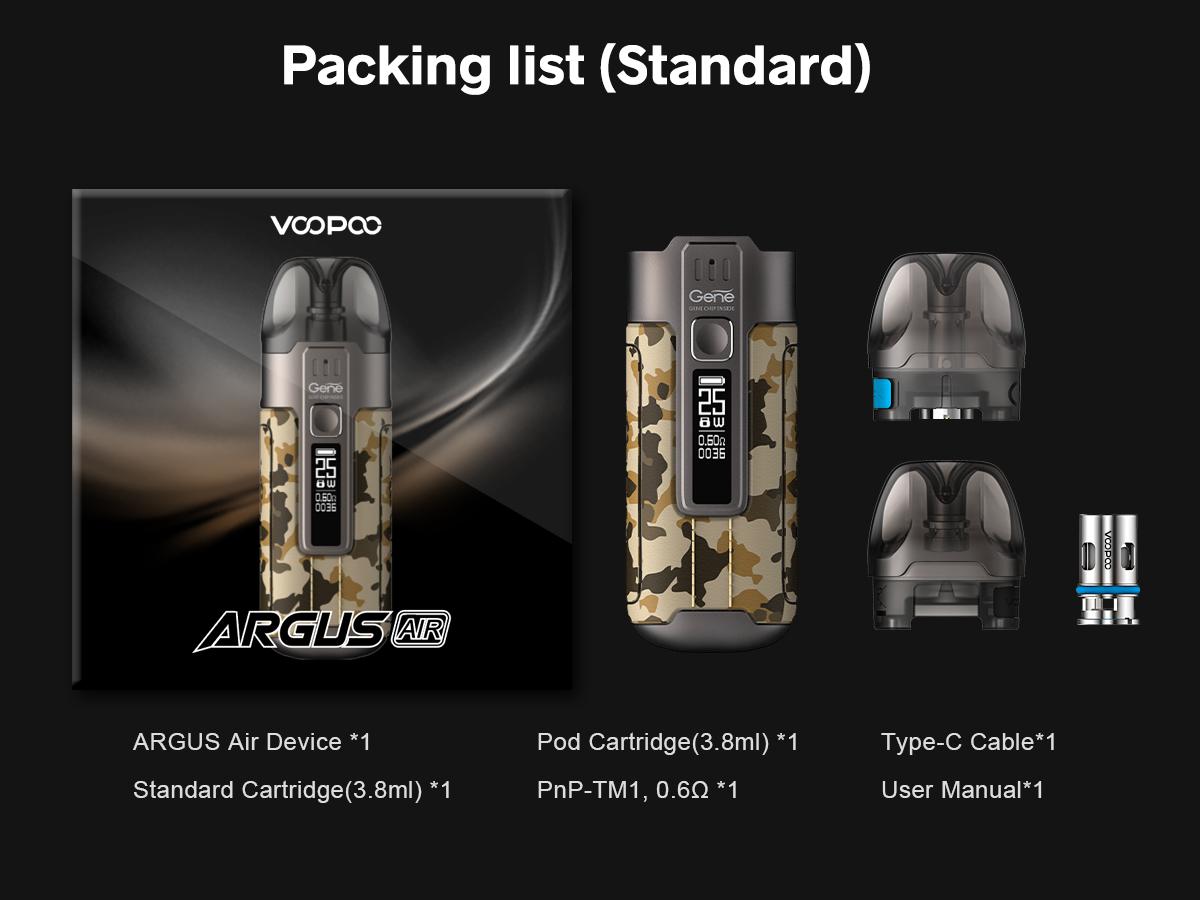 Argus Air Pod Mod Kit 900 mAh фото 1