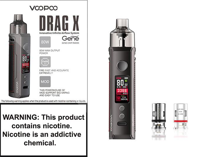 Voopoo Drag X Mod Pod фото 6
