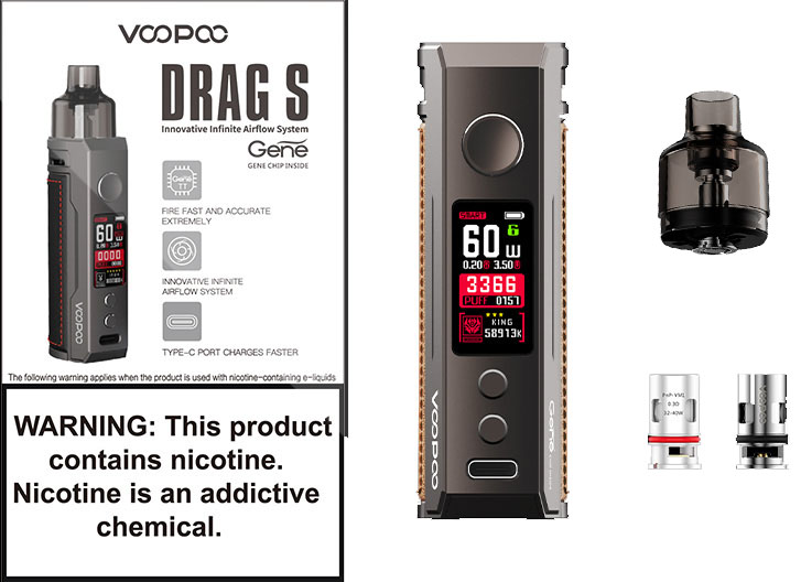 Voopoo Drag S Pod Mod Kit фото 6